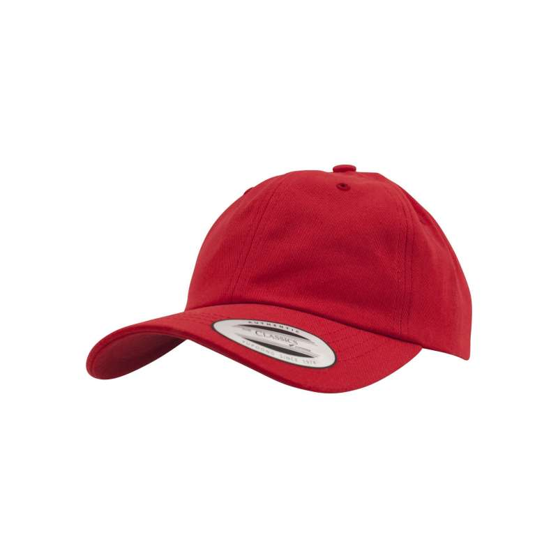 Dad Hat - Yupoong röd